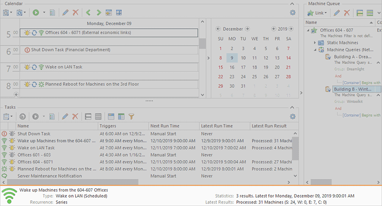 The Task Details pane